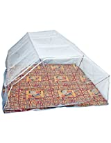 Elegant Double bed6*6 Blue color Mosquito Net