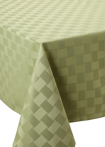 Bardwil Reflections Square Tablecloth (Sage)