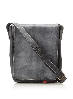 Oliberté Men's Mamu Bag (Dark Grey Wax)