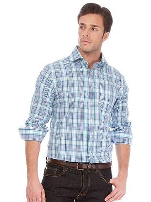 Arrow Camisa Chase (azul cielo / blanco)