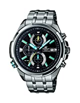 Casio Edifice Chronograph Black Dial Men's Watch - EFR-536D-1A2VDF