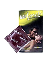 Manforce Banana Flavoured Extra Dotted Condoms, Banana 10 pieces/pack