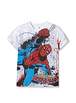 Marvel T-Shirt Manica Corta Spiderman Combat