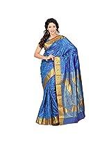 Varkala Kanjivaram Silk Saree, Ananda-Violet-JP7104ADV