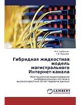 Gibridnaya Zhidkostnaya Model' Magistral'nogo Internet-Kanala