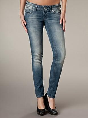 LTB Jeans Corine Fashion Style Slim Fit Low Rise (Dunkelblau/Grau)