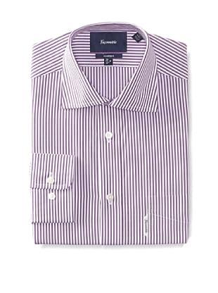 Façonnable Men's Classic Fit Dress Shirt (Violet)