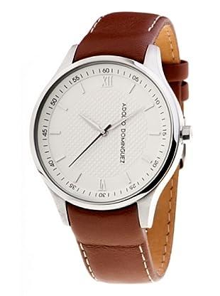 Adolfo Dominguez Watches 68004 - Reloj de Caballero cuarzo correa piel Marrón