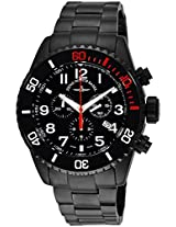 Men'S Divers Black Dial Black Tone Stainless Steel (6492Bk-A1M)