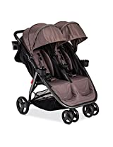Combi Fold N Go Double Stroller, Caribou