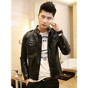 OnlyUrs CRW7171WBA Stand Collar Men's Jacket - Black