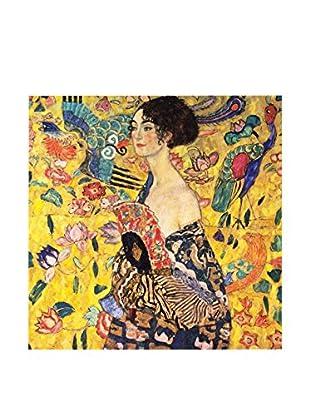Legendarte Lienzo Gustav Klimt - Dama Con Ventaglio