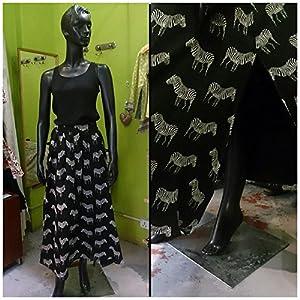 Summer Love Sk.2 Zebra Skirt