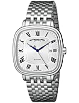 Raymond Weil Men's 2867-ST-00659 Maestro Analog Display Swiss Automatic Silver Watch