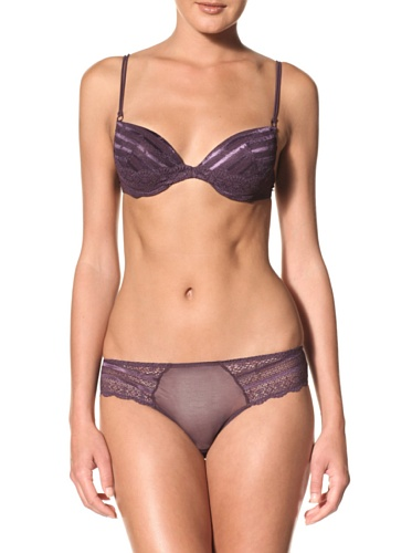 Rosapois Women's Suave Tentacion Panty (Grape)