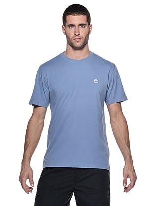 Timberland Camiseta M/M (Azul claro)