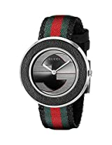 Gucci Womens YA129444 Gucci U - Play Collection Analog Display Swiss Quartz Multi-Color Watch