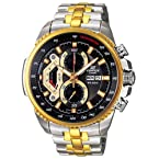 Casio Edifice Analog-Digital Black Dial Men's Watch - EF-558SG-1AVDF (ED439)