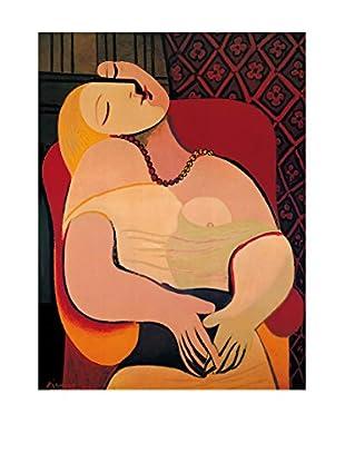 ArtopWeb Panel de Madera Picasso The Dream 80x60 cm