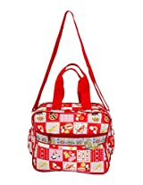 Mee Mee Multi Functional Diaper Bag (Red)