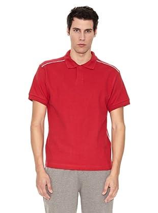 Slazenger Polo Backhand (Rojo / Blanco)