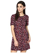 Besiva half sleeve shift dress