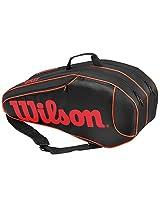 Wilson Burn Team 6PK Bag Black / Orange