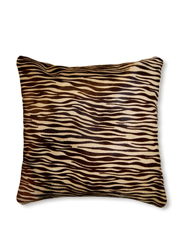 Natural Torino Cowhide Pillow (Zebrina)