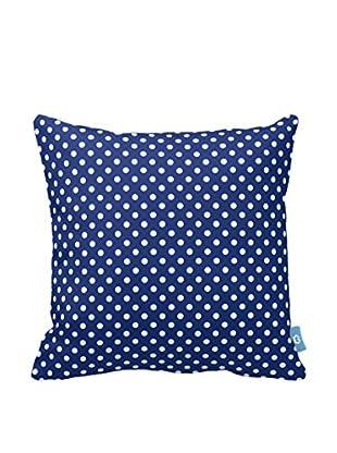 Your Living Room Kissen blau/weiß