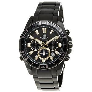 Casio Edifice Chronograph Multi-Color Dial Men's Watch - EFR-534BK-1AVDF (EX153)