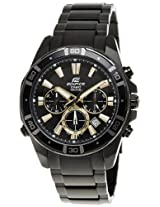 Casio Edifice Chronograph Multi-Color Dial Men's Watch - EFR-534BK-1AVDF (EX153)