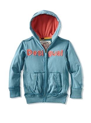 Desigual Boy's Salmon Hoodie (Blue)