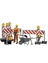 Bruder Bworld Construction Set with Man (Colors May Vary)