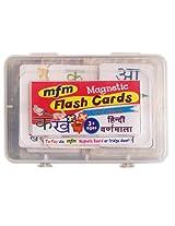 MFM Toys Hindi Varnamala Flashcards (Magnetic Flash Cards)