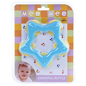 Mee Mee - Blue Star Rattle