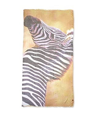 CHIC Women's Zebra Digital Woven Viscose Scarf, Stripes, One Size