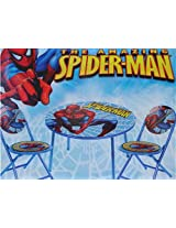 The Amazing Spider-Man Spiderman 3-Piece Folding Table & Chair Set