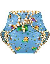 Kushies Swim Diaper, Goldfish Print, Medium