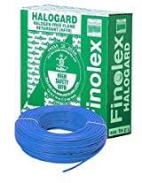 Finolex 6.0-Sqmm Halogen Free Flame Retardant Cable (Blue)