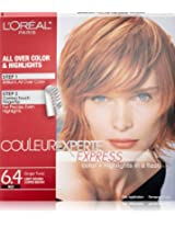 L'Oreal Paris Couleur Experte Express Hair Color 6.4 Light Golden Copper Brown/Ginger Twist