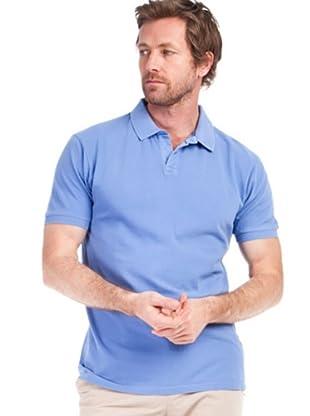 Cortefiel Polo Vintage (azul cielo)