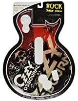 Gamer Graffix Xbox 360 Guitar Hero 3 Controller Skin only