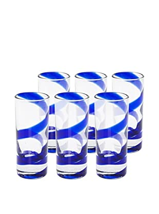 Impulse! Set of 6 Playa Shot Glasses