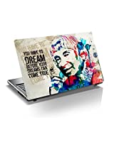 "A Tribute to APJ Kalam Sir 15.6 inch Laptop Skin, 3M Vinyl Fits for 13.3"", 14"", 15"", 15.6"", 16"" Screen, For Motivate Yourself -(Buy2 and Get 1 Free)"