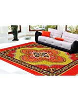 Decorvilla Traditional Design Quilted Carpet (CP039)