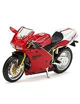 Bburago Ducati 998R -1:18 Scale Diecast Motorcycle