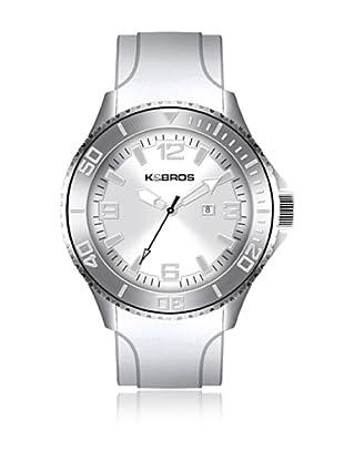 K&BROS Reloj 9563 (Blanco)