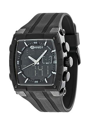 Marea 35205/3 - Reloj Caballero caucho Negro