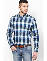 Navy Blue Regular Fit Casual Shirt Tommy Hilfiger