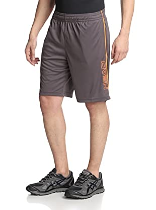 HEAD Men's Return To Order Short (Asphalt)